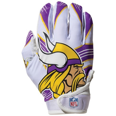 NFL Minnesota Vikings Kids' Receiver Gloves - M