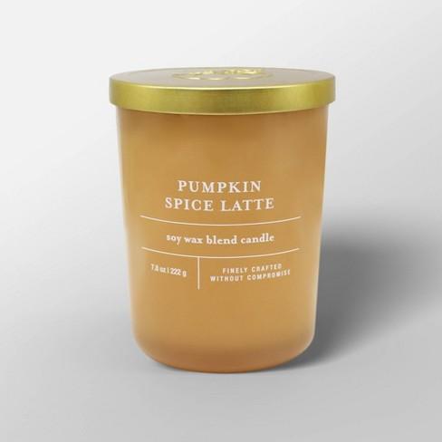 7.8oz Glass Jar Candle Pumpkin Spice Latte - Threshold™ - image 1 of 2