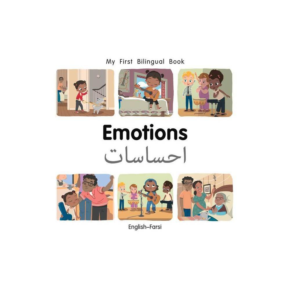 My First Bilingual Book Emotions English Farsi By Patricia Billings Board Book