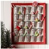 """Raz Imports 24"""" Red Rustic Weathered Bucket Christmas Advent Calendar - image 2 of 2"""