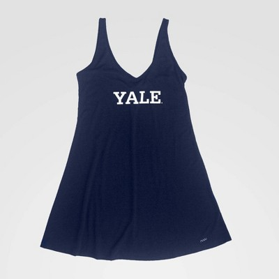 NCAA Yale Bulldogs Slip Dress - Blue L
