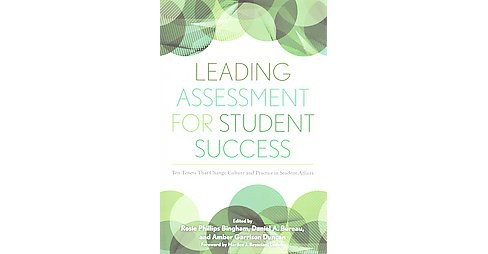 Leading Assessment for Student Success : Ten Tenets That Change Culture and Practice in Student Affairs - image 1 of 1