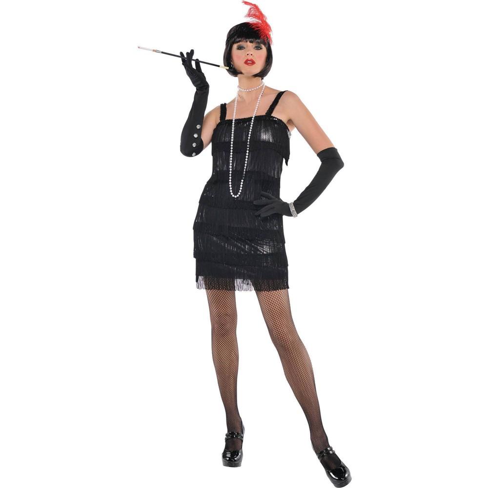 Adult Flashy Flapper Halloween Costume M