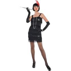 Women's Flashy Flapper Halloween Costume