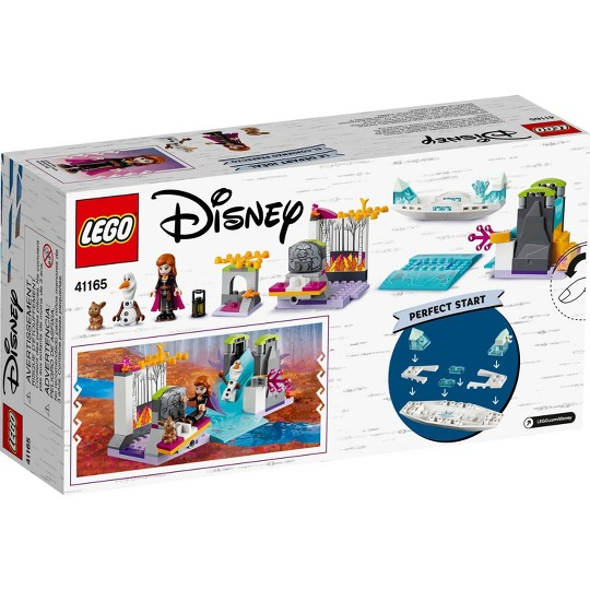 LEGO Disney Princess Frozen 2 Anna's Canoe Expedition 41165 Frozen Adventure Easy Building Kit 108pc image number null