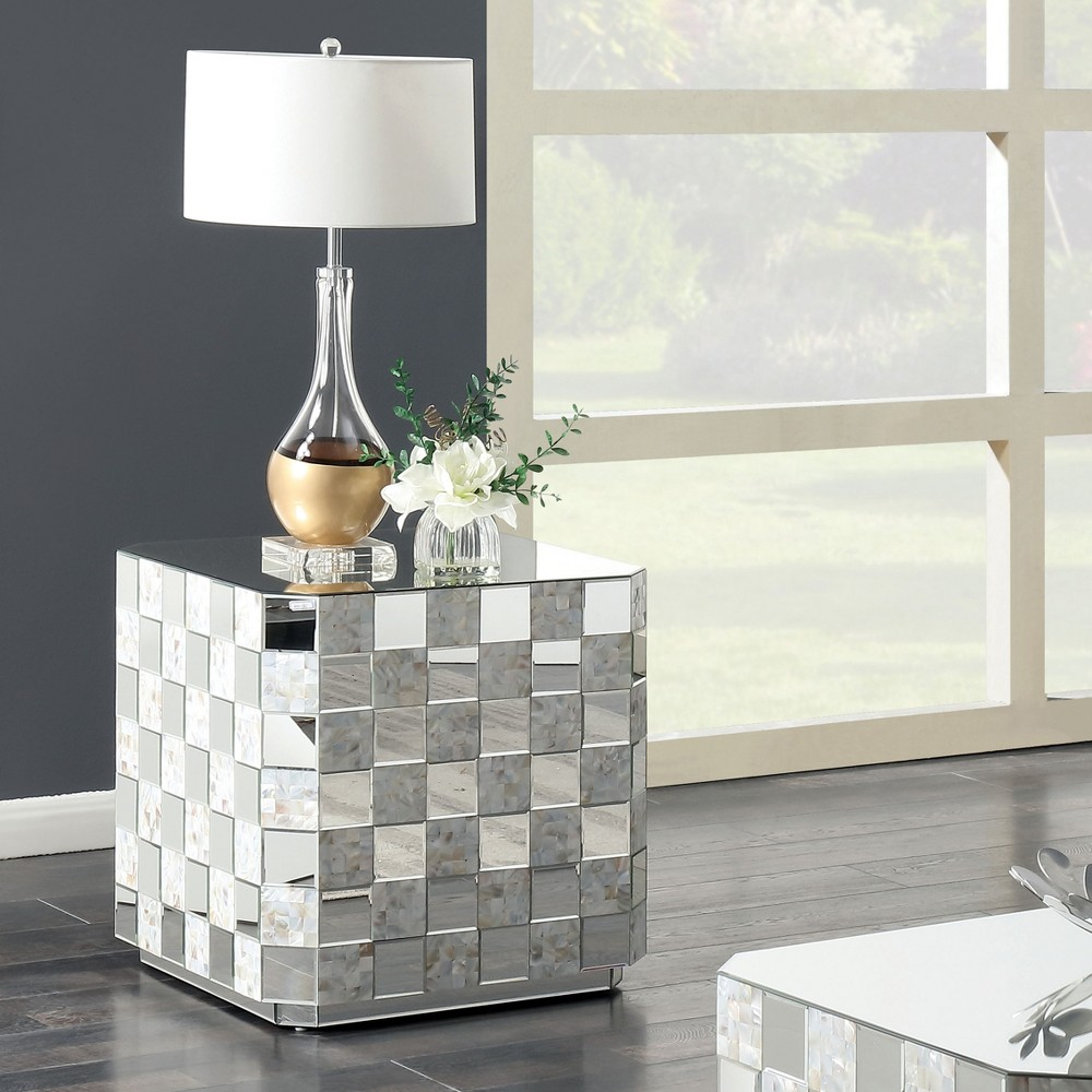 Accent Tables Silver Gray - miBasics