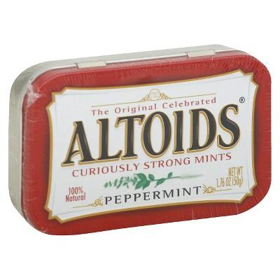 Altoids Peppermint Mint Candies - 1.7oz