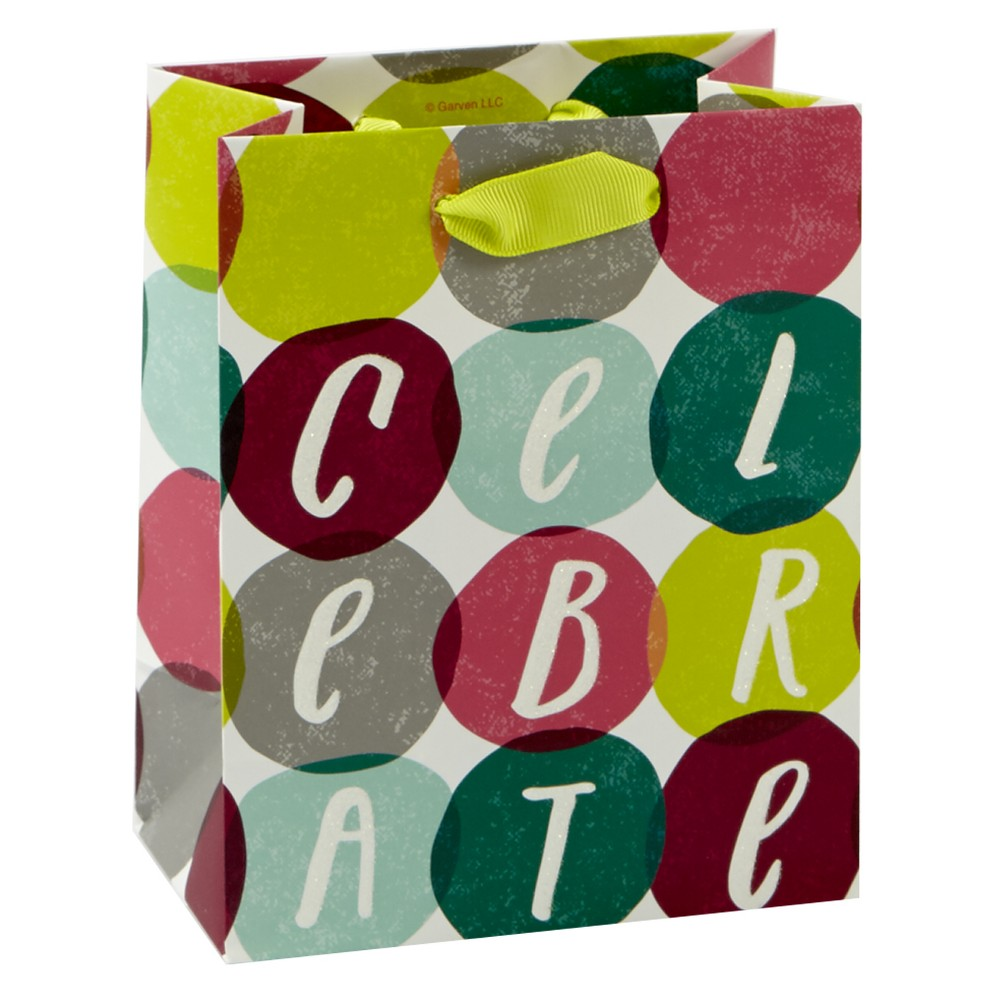 Image of 'Celebrate' Cub Gift Bag - Spritz, Multi-Colored