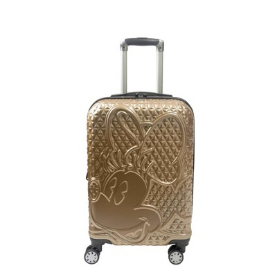 FUL Disney Minnie Mouse 25'' Hardside Suitcase - Gold