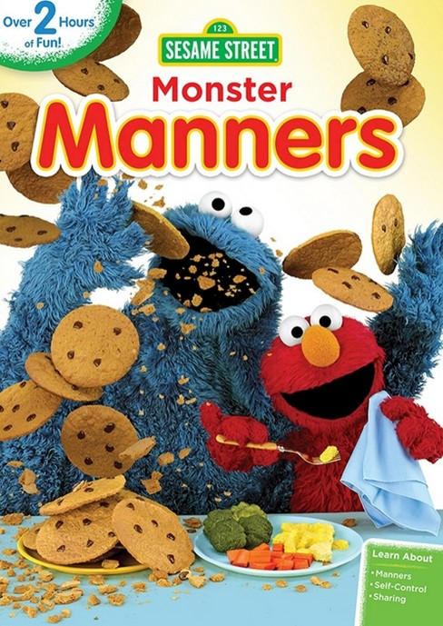 Sesame Street: Monster Manners (dvd_video) - image 1 of 1
