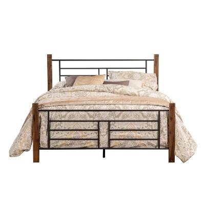Raymond Metal Bed Brown - Hillsdale Furniture