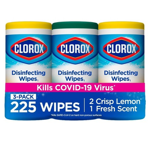 Clorox Disinfecting Wipes Value Pack Bleach Free Cleaning Wipes - 75ct Each/3pk - image 1 of 4
