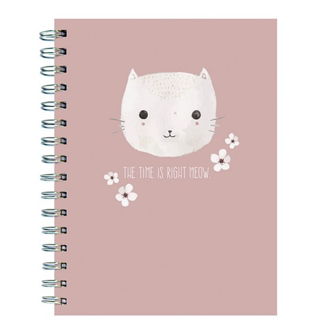 "Lined Journal ""The Time is Right Meow"" Cat - TF Publishing - image 1 of 6"