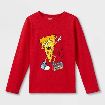 Boys' Adaptive Printed Long Sleeve Graphic T-Shirt - Cat & Jack™