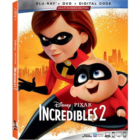 Incredibles 2 (2 Blu-Ray) - image 1 of 2
