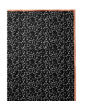 Manduka Welcome Yoga Mat Towel - Black