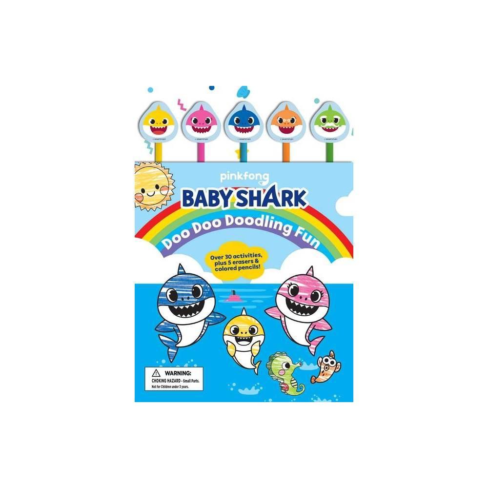 Baby Shark Doo Doo Doodling Fun Pencil Toppers Pinkfong Baby Shark Paperback