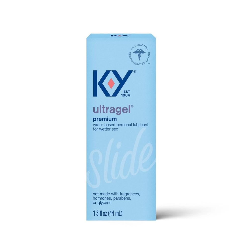 K Y Ultragel No Fragrance Added Personal Lube 1 5 Fl Oz