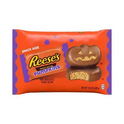 Reese's Halloween Peanut Butter Pumpkins Snack Size - 10.2oz