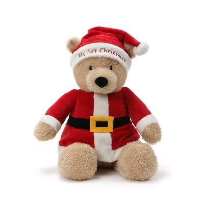 "G by Gund 14"" My First Christmas Bear"