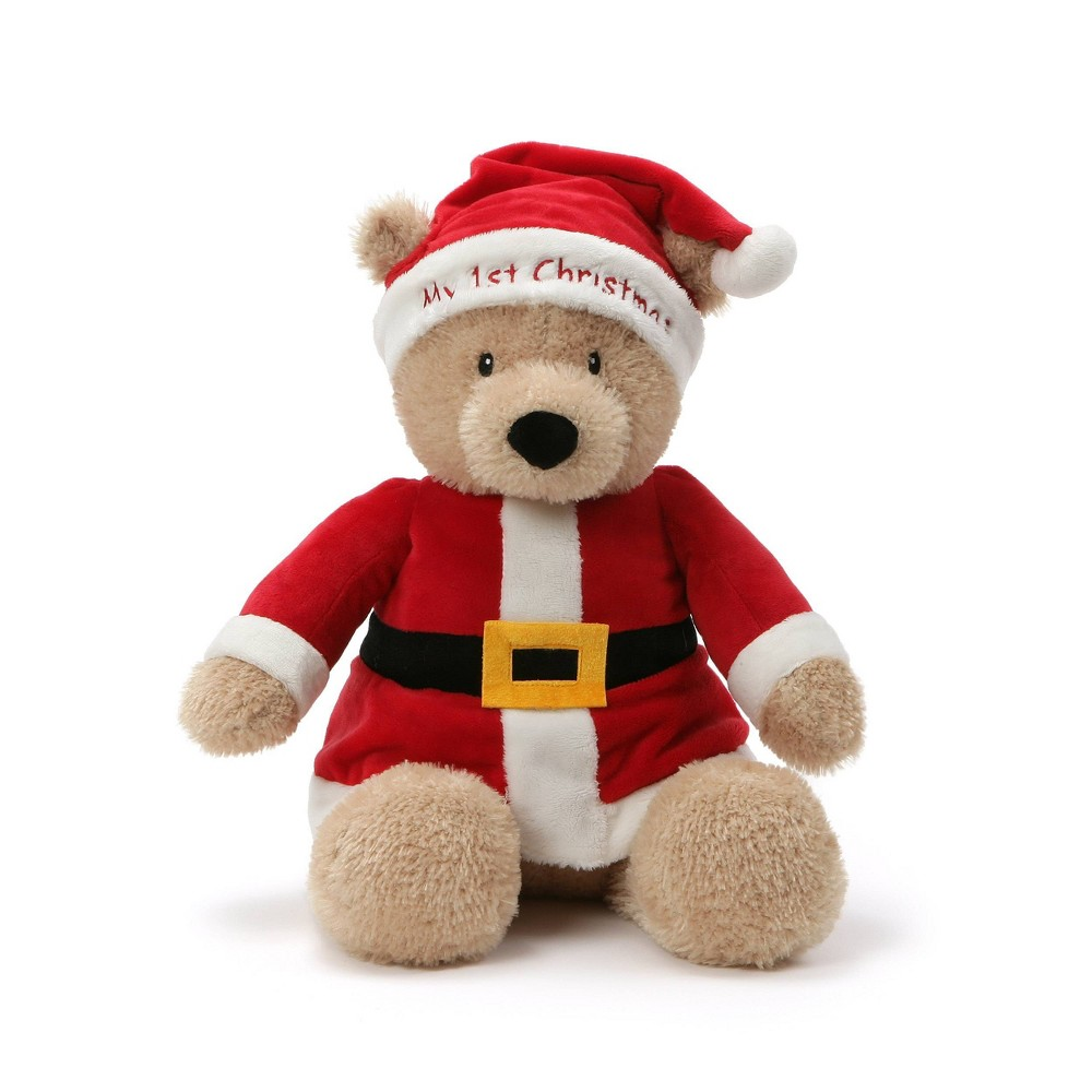 """Image of """"G by Gund 14"""""""" My First Christmas Bear"""""""