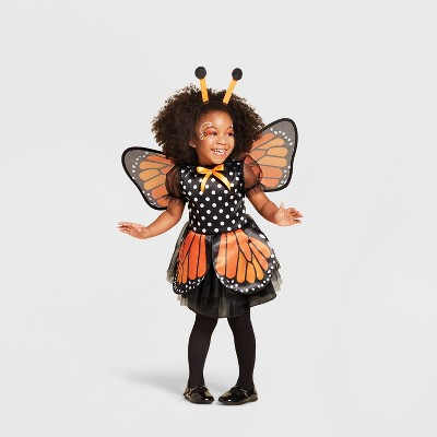 Toddler Butterfly Halloween Costume Dress (with 2 Accessories) - Hyde & EEK! Boutique™