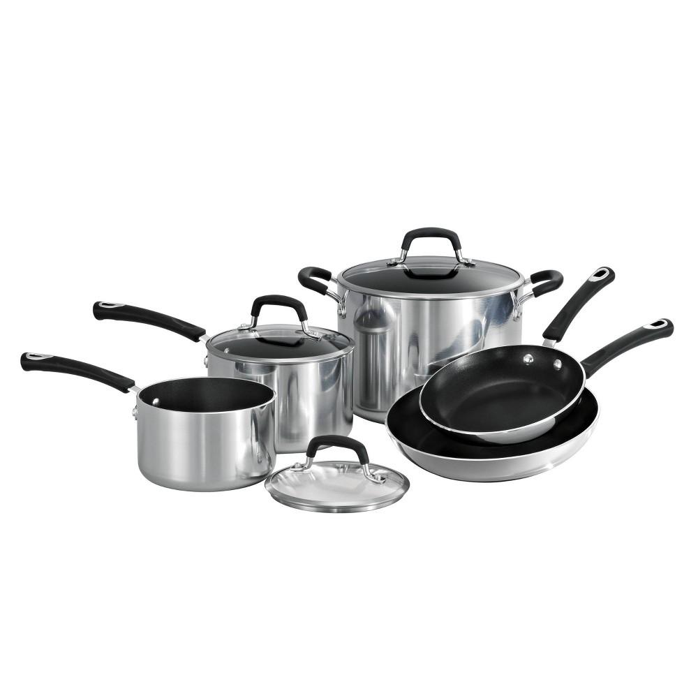 Image of Tramontina Aluminum Cookware Set 8pc