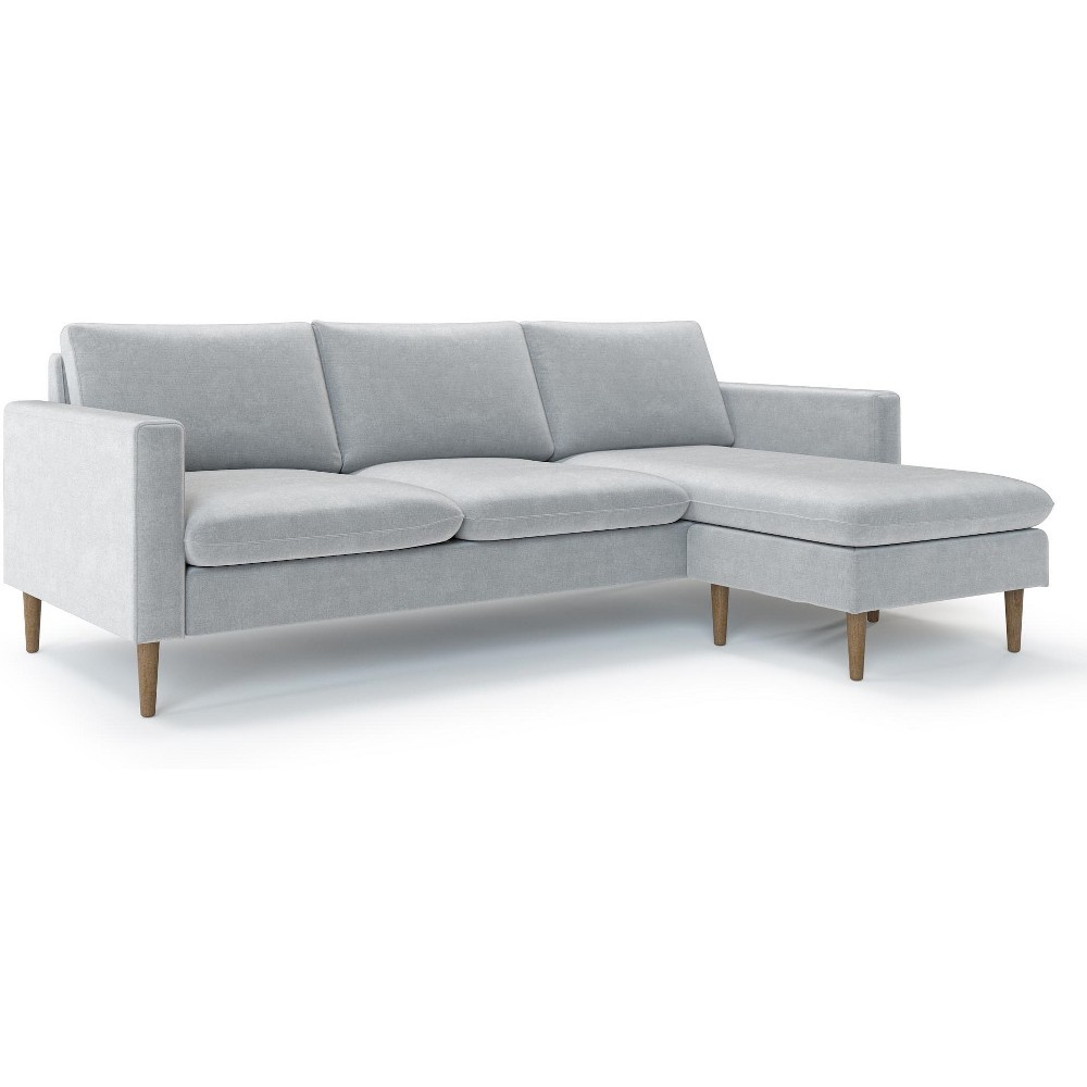 Cora Reversible Sofa Heather Gray - AF Lifestlye