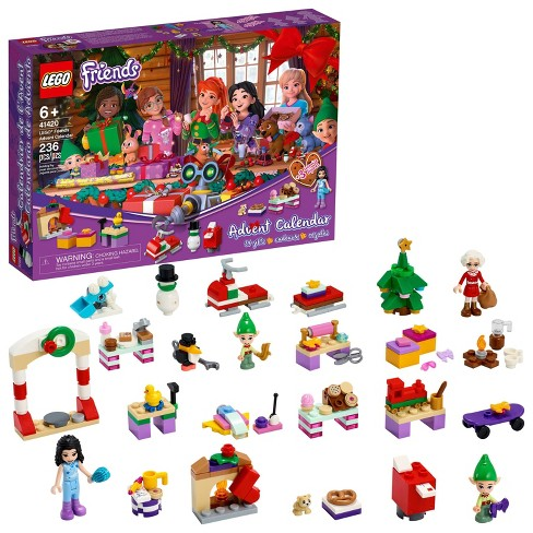 LEGO Friends Advent Calendar Building Toy for Kids 41420 - image 1 of 4