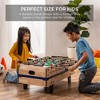 Best Choice Products 4-in-1 Multi Game Table, Childrens Arcade Set w/ Pool Billiards, Air Hockey, Foosball, Table Tennis - image 2 of 4