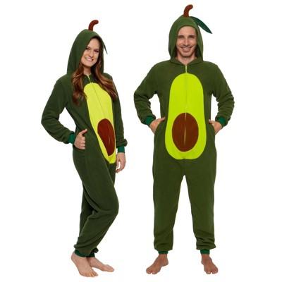 Funziez! Avocado Slim Fit Adult Unisex Novelty Union Suit
