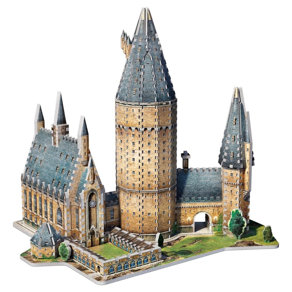 Wrebbit - 3D Puzzle Harry Potter Hogwarts Great Hall, 850pc