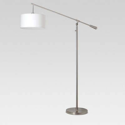 Cantilever Floor Lamp Nickel - Threshold™