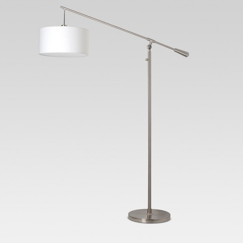 Cantilever Floor Lamp Nickel Lamp Only Threshold Target