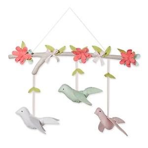 Hanging Decor Birds - Cloud Island Pink, Adult Unisex