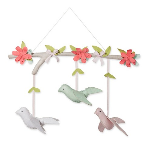 Hanging Decor Birds - Cloud Island™ Pink - image 1 of 1
