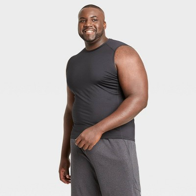 Men's Sleeveless Fitted Muscle T-Shirt - All in Motion™
