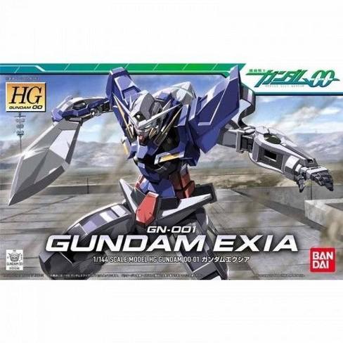 Bandai Hobby Gundam 00 Gundam Exia HG 1/144 Model Kit - image 1 of 2