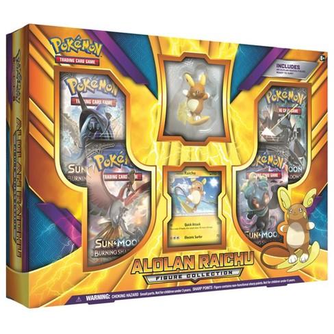 Pokemon Trading Card Game Alolan Raichu Figure Box - image 1 of 2