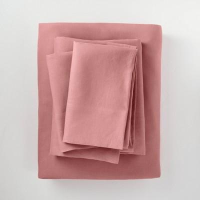 100% Washed Hemp Solid Sheet Set - Casaluna™