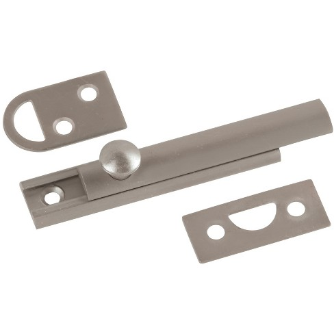 "First Watch 1849 3"" Solid Brass Slide Surface Bolt for Flush or Recessed Doors - image 1 of 1"