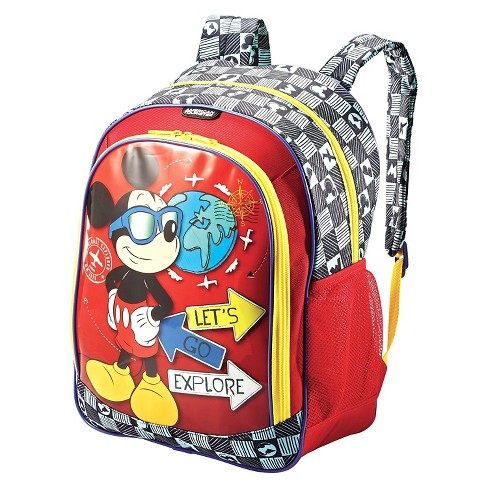 46a457cfad American Tourister Disney Mickey Mouse Kids  Backpack - Red   Target