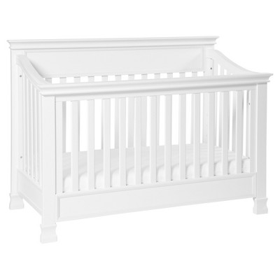 Million Dollar Baby Classic Foothill 4-in-1 Convertible Crib with Toddler Rail - White
