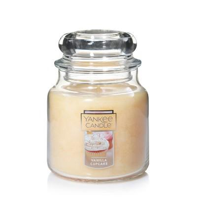 12.5oz Glass Jar Vanilla Cupcake Candle - Yankee Candle