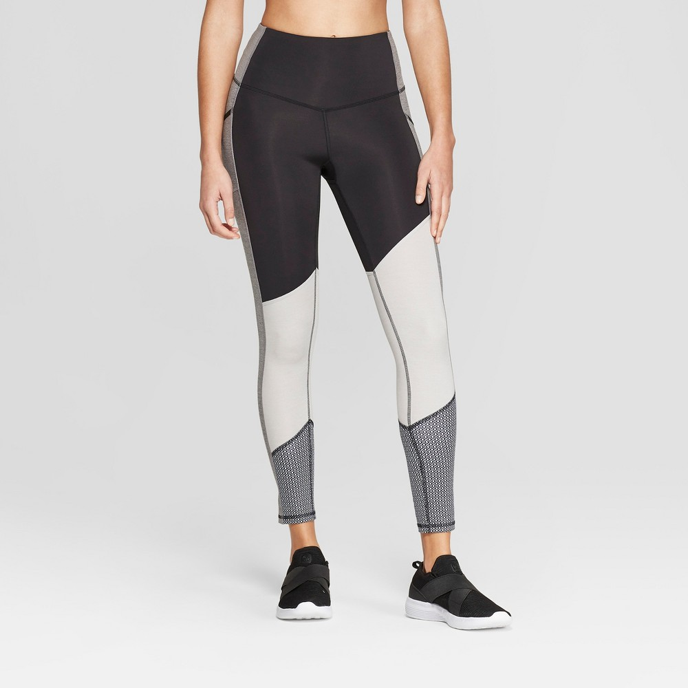 Women's Training High-Waisted Leggings - C9 Champion Black S