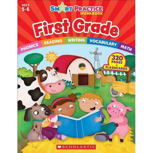 Smart Practice Workbook: First Grade - (Smart Practice Workbooks)  (Paperback)