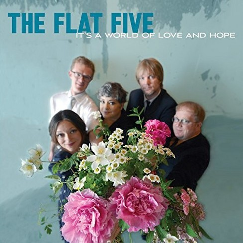 Flat Five - It's A World Of Love And Hope (Vinyl) - image 1 of 1