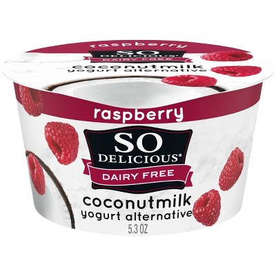 So Delicious Dairy-Free CoconutMilk Raspberry Yogurt Alternative - 5.3oz