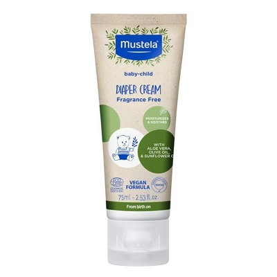 Mustela Diaper Cream with Olive Oil and Aloe - 2.54oz