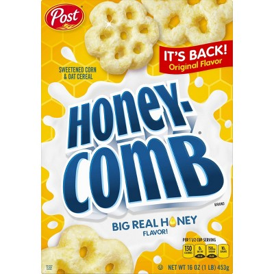 HoneyComb Original Breakfast Cereal - 16oz - POST